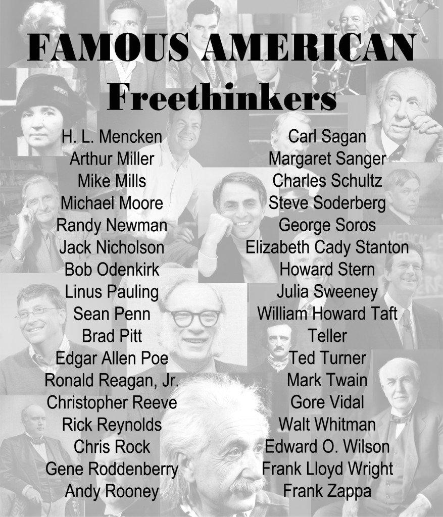 Famous American Freethinkers 2