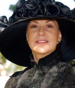 Margaret Downey portraying Eva Ingersoll. Image © mvjantzen
